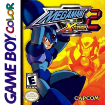 Mega Man Xtreme 2 Cover Art
