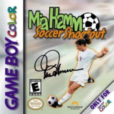 Mia Hamm Soccer Shootout Cover Art