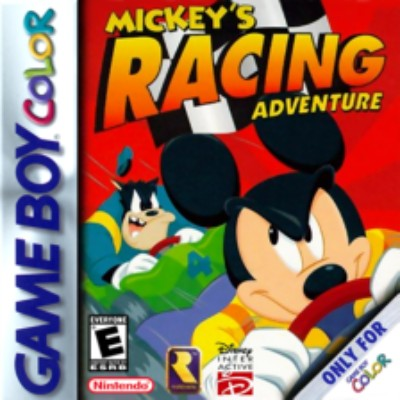 Mickey's Racing Adventure Cover Art