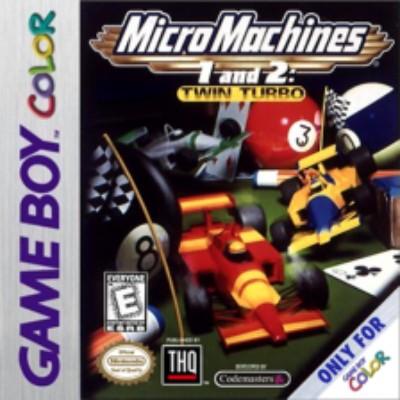 Micro Machines 1 & 2: Twin Turbo Cover Art