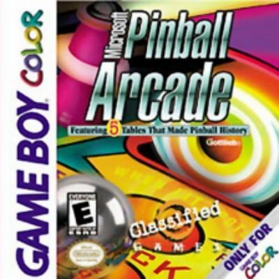 Microsoft Pinball Arcade Cover Art