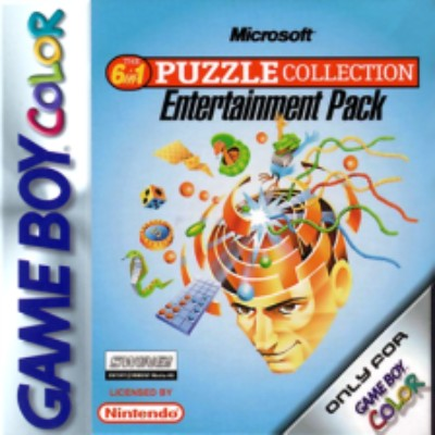 Microsoft Puzzle Collection Entertainment Pack Cover Art