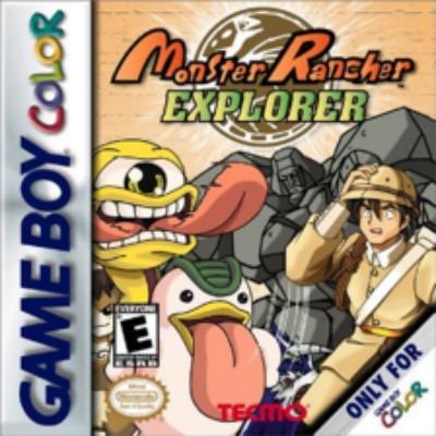 Monster Rancher Explorer Cover Art