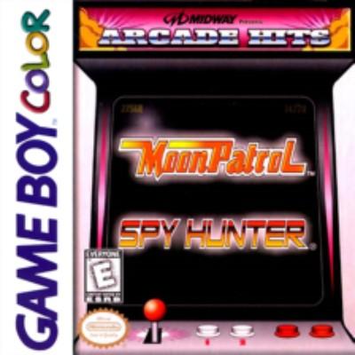 Arcade Hits: Moon Patrol / Spy Hunter Cover Art