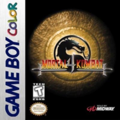 Mortal Kombat 4 Cover Art