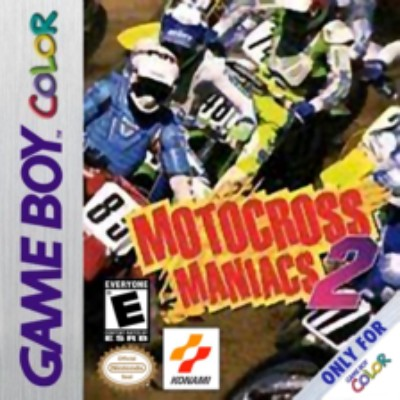 Motocross Maniacs 2 Cover Art