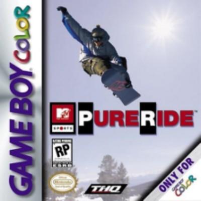 MTV Sports: Pure Ride Cover Art