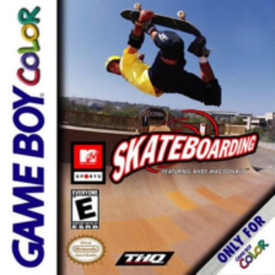 MTV Sports: Skateboarding Cover Art