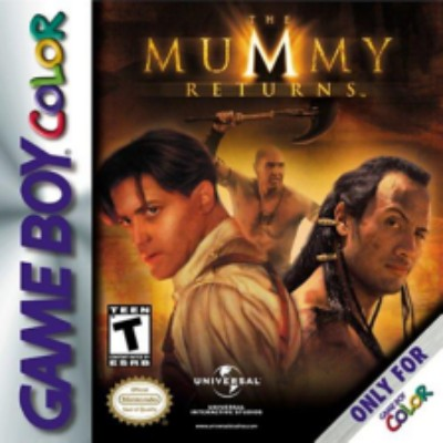 Mummy Returns Cover Art
