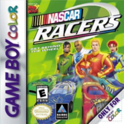 NASCAR Racers Cover Art