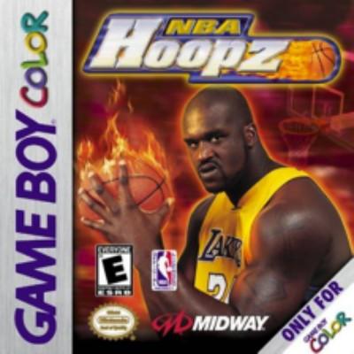 NBA Hoopz Cover Art