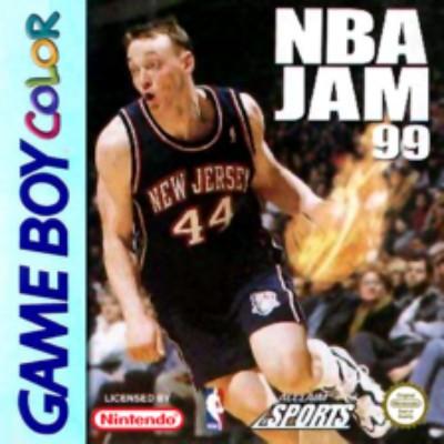 NBA Jam 99 Cover Art