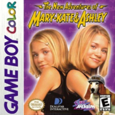 New Adventures of Mary Kate & Ashley Cover Art