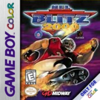 NFL Blitz 2000 Cover Art