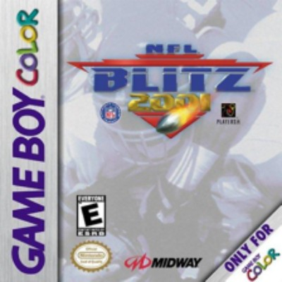 NFL Blitz 2001 Cover Art