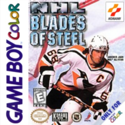 NHL Blades of Steel Cover Art