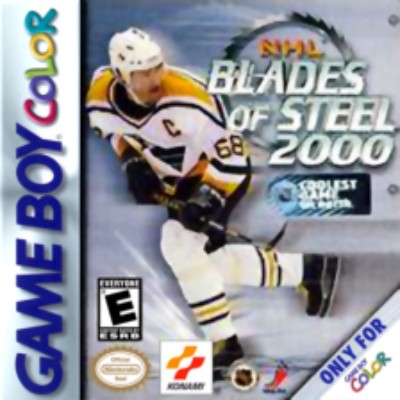NHL Blades of Steel 2000 Cover Art