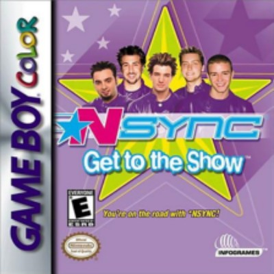 NSYNC: Get to the Show Cover Art