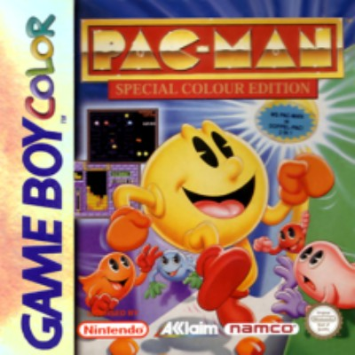 Pac-Man Special Color Edition Cover Art