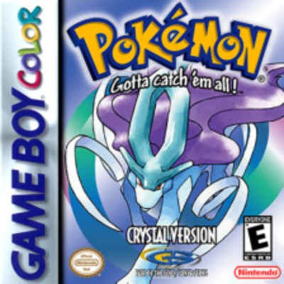Pokemon Crystal Version Cover Art