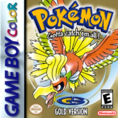 Pokemon Gold Version Cover Art