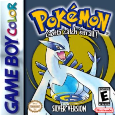Pokemon Silver Version Cover Art