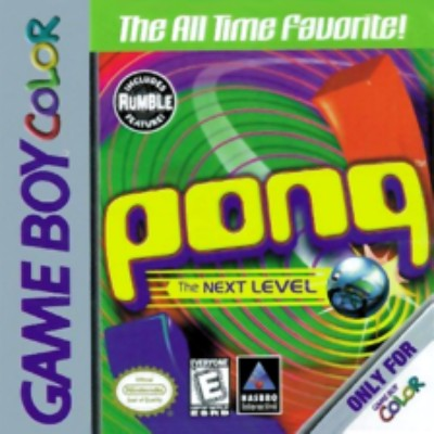 Pong: The Next Level Cover Art