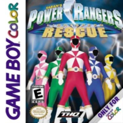 Power Rangers Lightspeed Rescue Cover Art