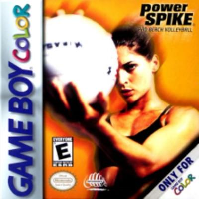Power Spike Pro Beach Volleyball Cover Art