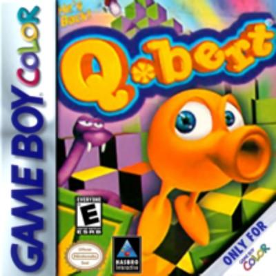 Q bert Cover Art