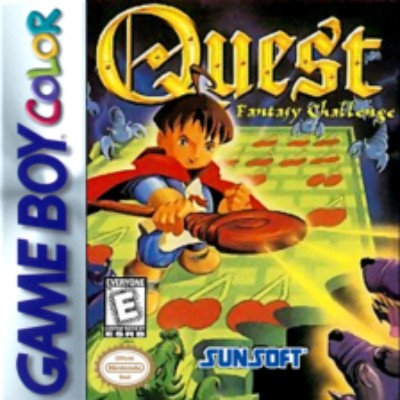 Quest Fantasy Challenge Cover Art