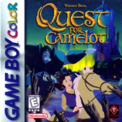 Quest for Camelot Cover Art