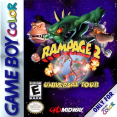Rampage 2: Universal Tour Cover Art