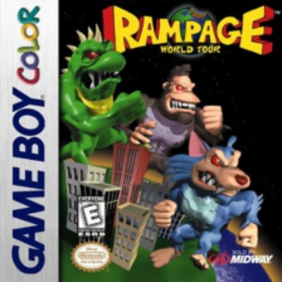 Rampage World Tour Cover Art