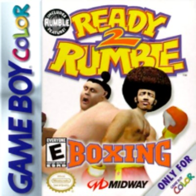 Ready 2 Rumble Boxing Cover Art