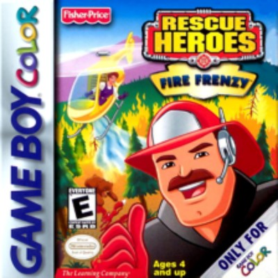 Rescue Heroes: Fire Frenzy Cover Art
