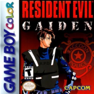 Resident Evil Gaiden Cover Art