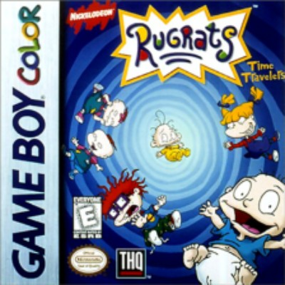 Rugrats: Time Travelers Cover Art