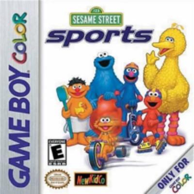 Sesame Street Sports Cover Art