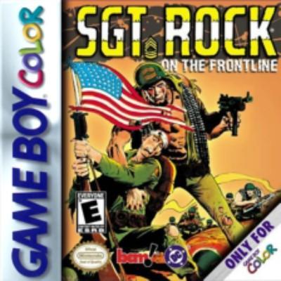 Sgt Rock on the Frontline Cover Art