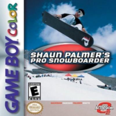 Shaun Palmer's Pro Snowboarder Cover Art