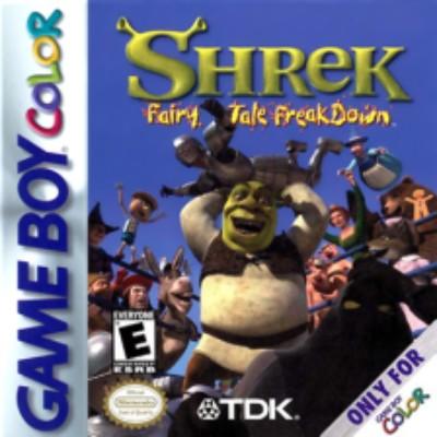 Shrek Fairy Tale Freakdown Cover Art