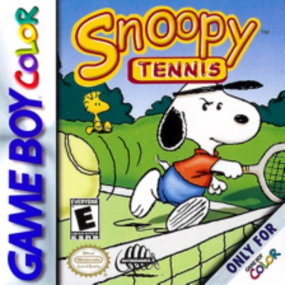 Snoopy Tennis Cover Art