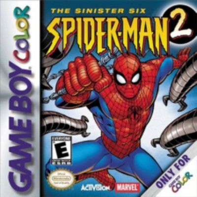 Spider-Man 2: The Sinister Six Cover Art