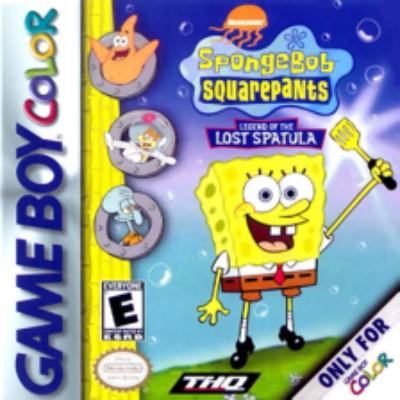 Spongebob Squarepants: Legend of the Lost Spatula Cover Art