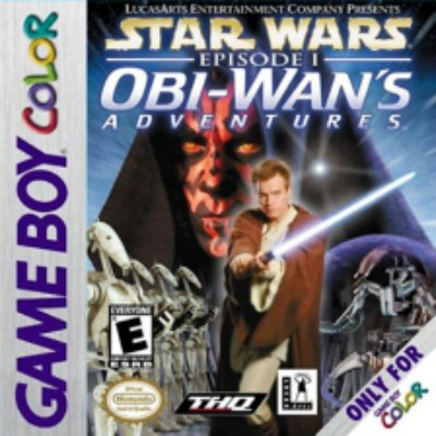 Star Wars Episode 1: Obi Wan's Adventures Cover Art