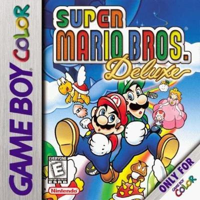 Super Mario Bros. Deluxe Cover Art