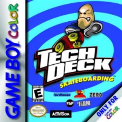 Tech Deck Skateboarding Cover Art