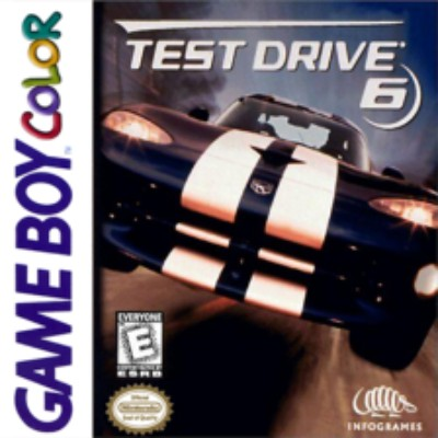 Test Drive 6 Cover Art