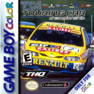 TOCA Touring Car Championship Cover Art